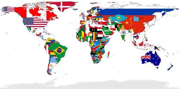 کشورهای انگلیسی زبان