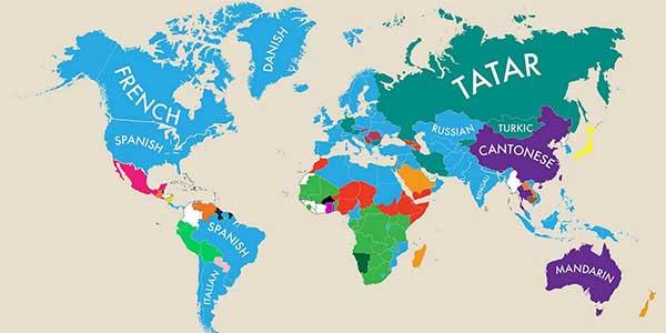 زبان رسمی کشورهای جهان