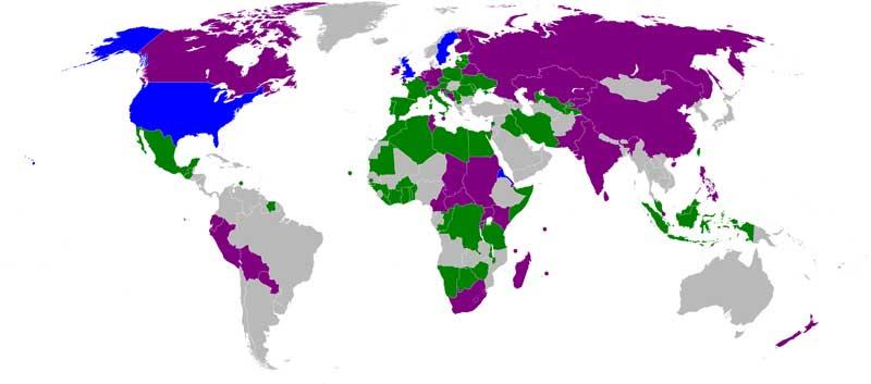 کشورهای چند زبانه جهان